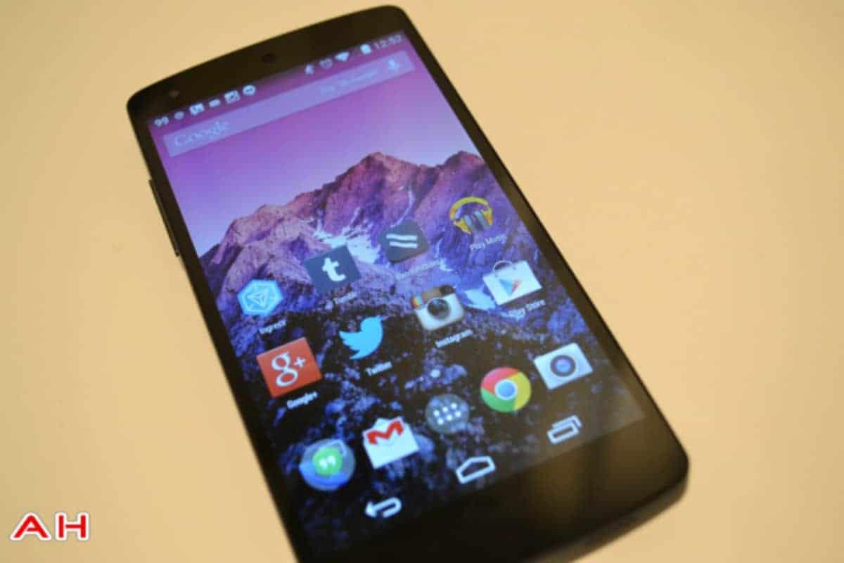 Nexus 5 Google Experience Launcher AH