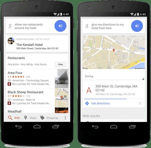 Google te ayuda mientras viajas