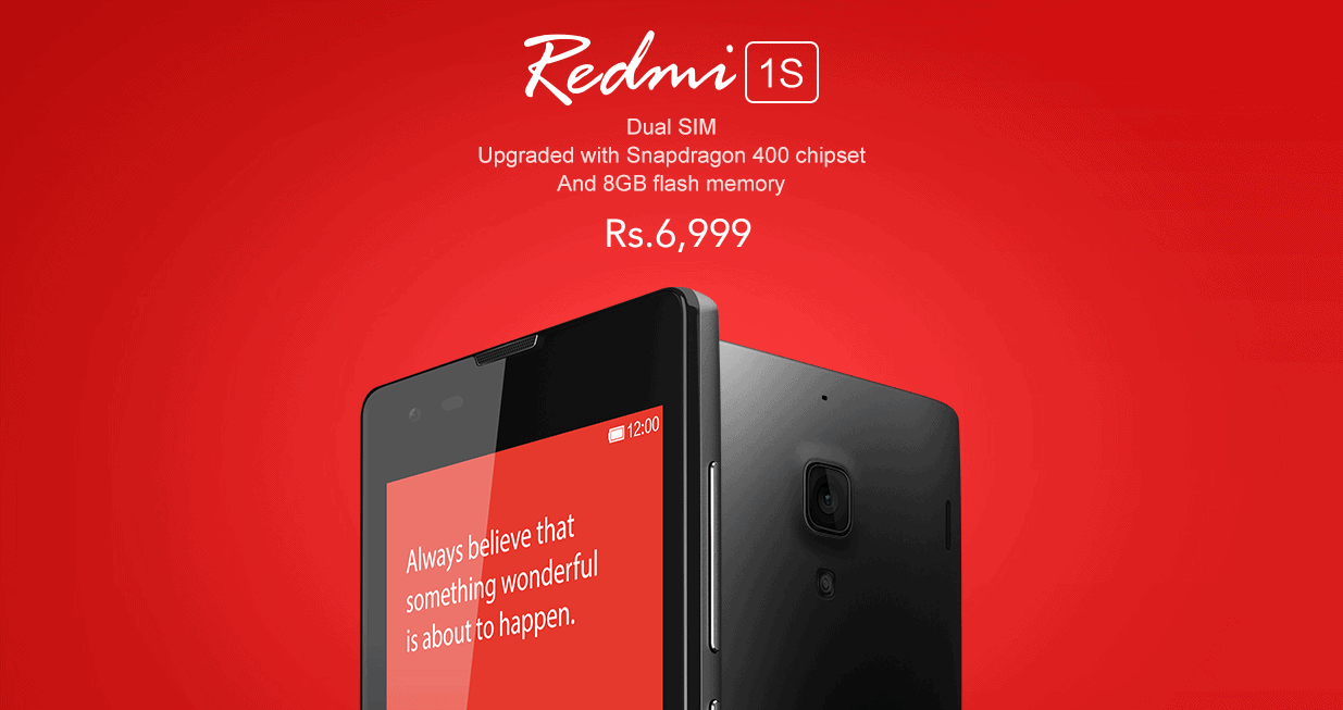 Xiaomi teases it's Redmi 1S on Facebook, Ambitious hardware at an Entry-Level Price
