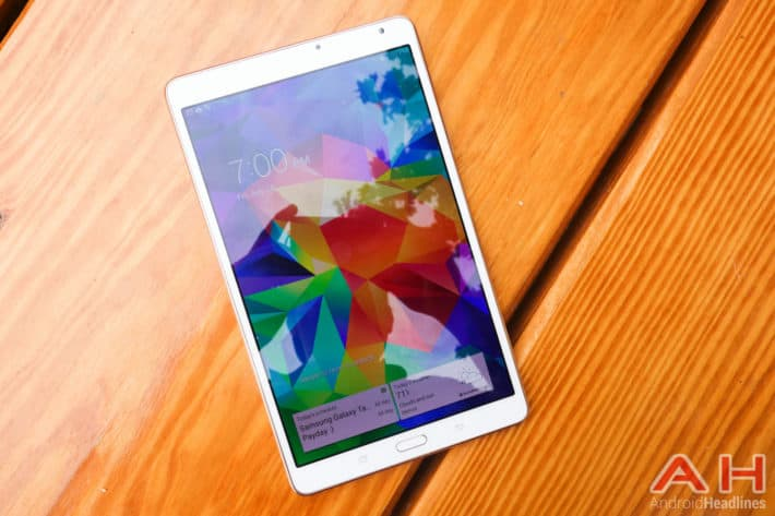 Samsung Galaxy Tab S 8.4 Will Soon Be Updated To Lollipop