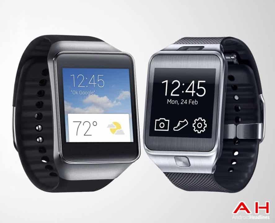 Samsung Gear Live vs Gear 2 Picture