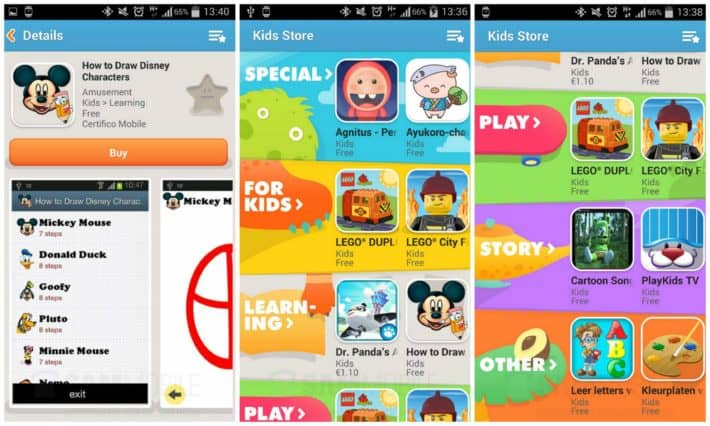 Samsung Has Enhanced The Kid's Store On Galaxy S5 And Galaxy Tab S
