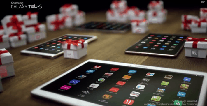 "Samsung's Latest Galaxy Tab S Commercial Highlights ""Galaxy Gifts"""