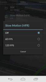 Framerate Options