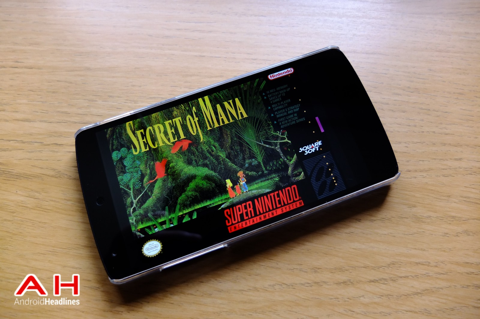 Secret of Mana AH