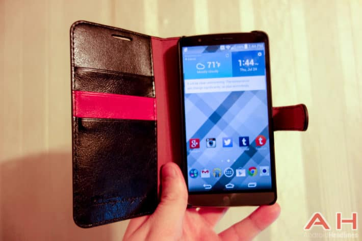Featured Review: Verus Diary Wallet Case for the LG G3