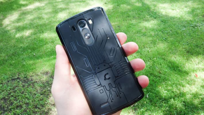 Featured Review: Cruzerlite Bugdroid Case for the LG G3