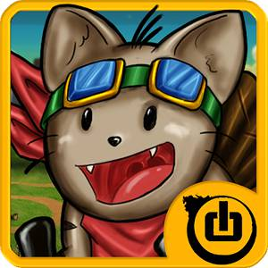 fly cat icon
