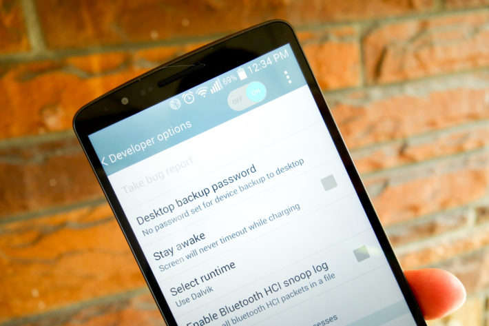 Android How To: Enable Developer Options on the LG G3