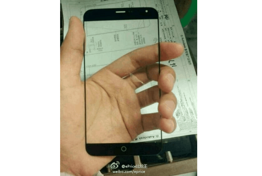 Meizu MX4 front panel leak