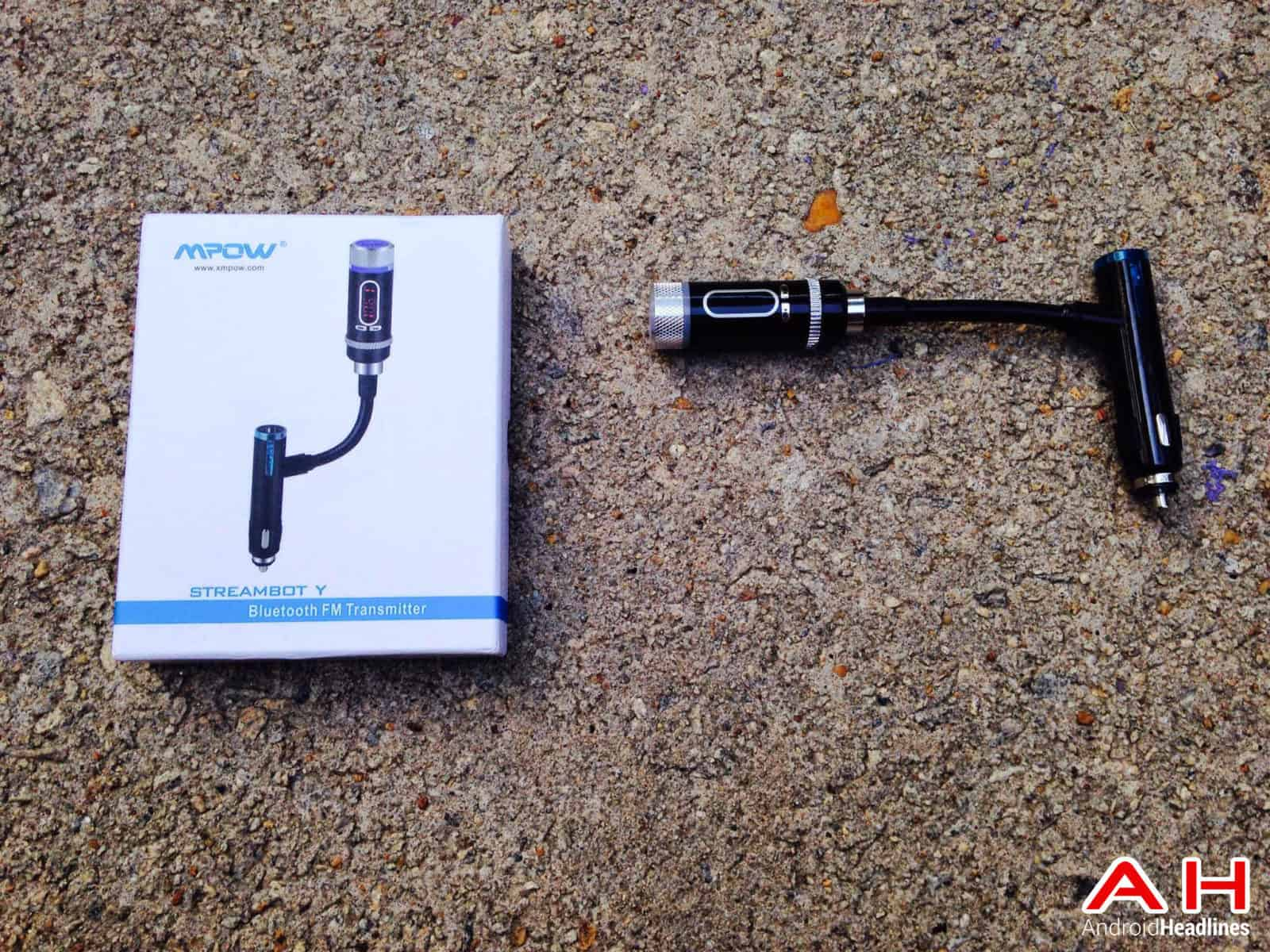 mpow streambot y bluetooth fm transmitter AH