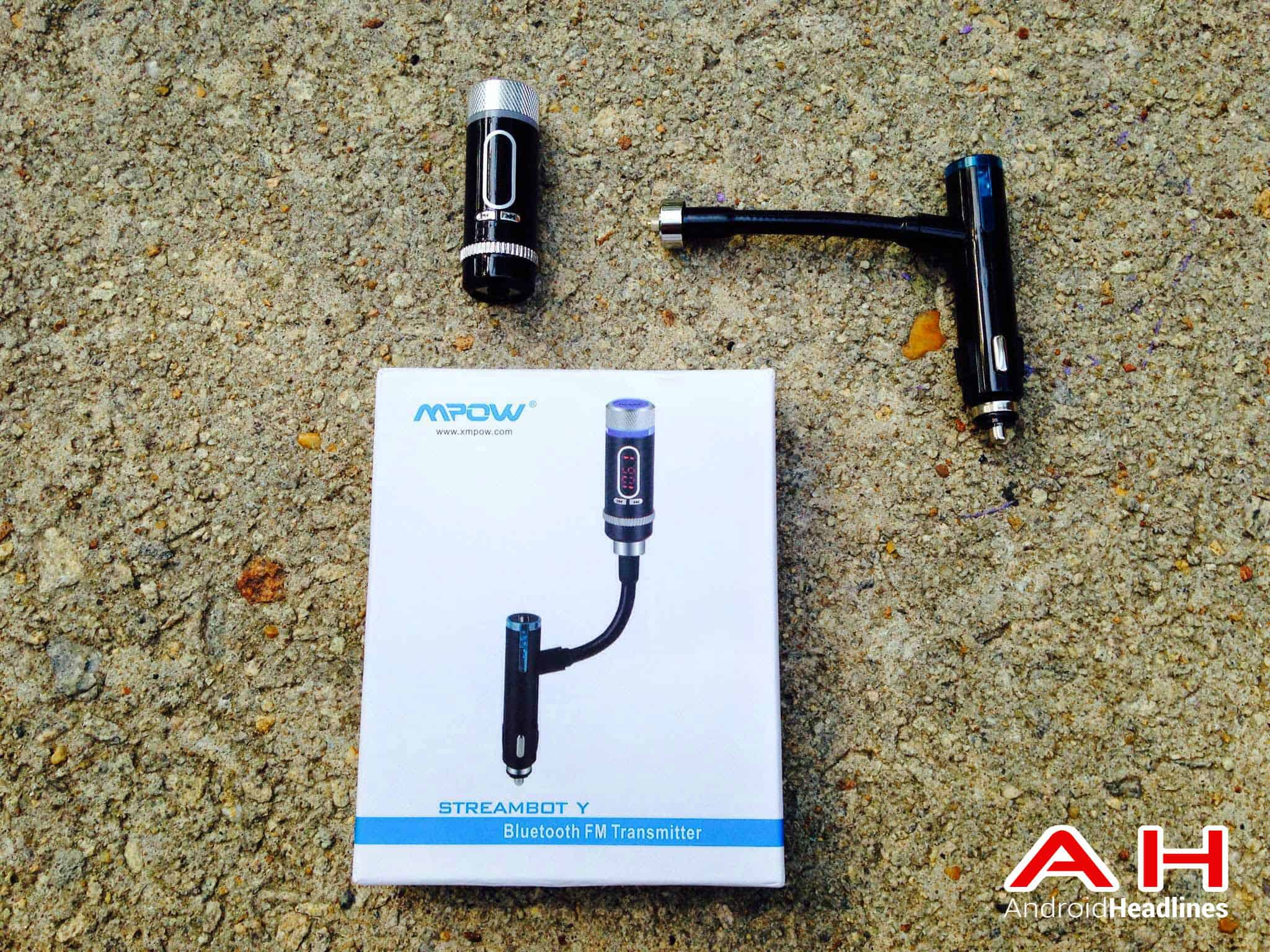 mpow streambot y bluetooth fm transmitter AH2