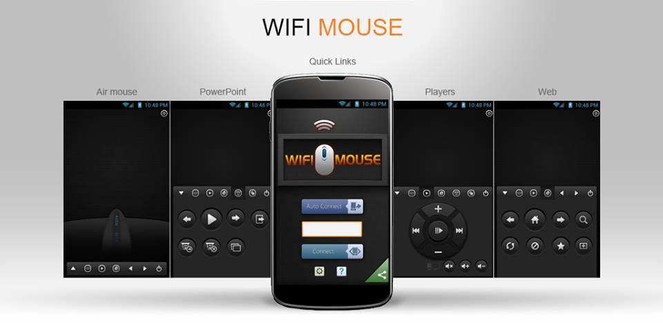 Превратите ваш телефон/планшет в беспроводные мышь, клавиатуру и трекпад с