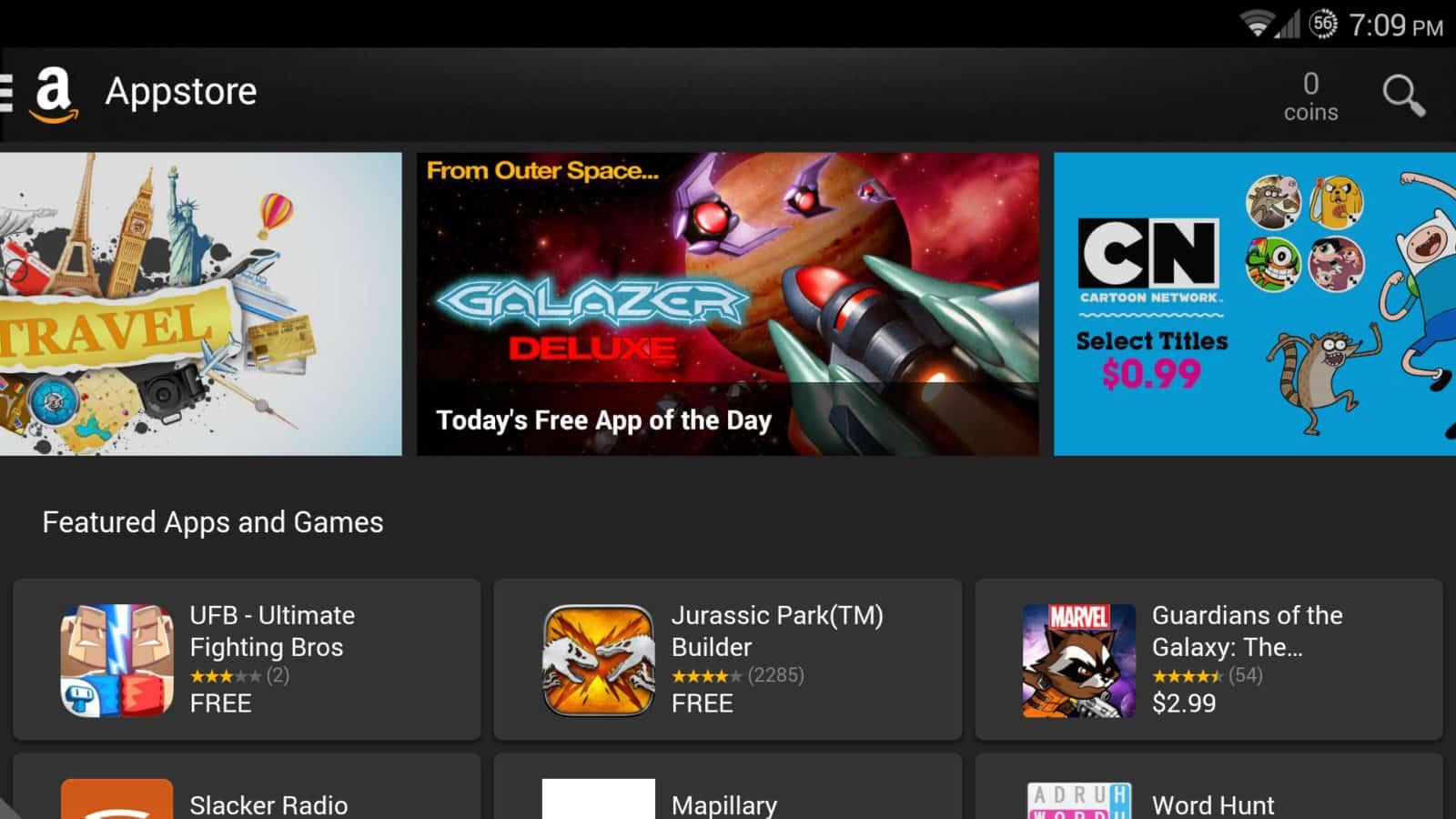 Amazon appstore screenshot
