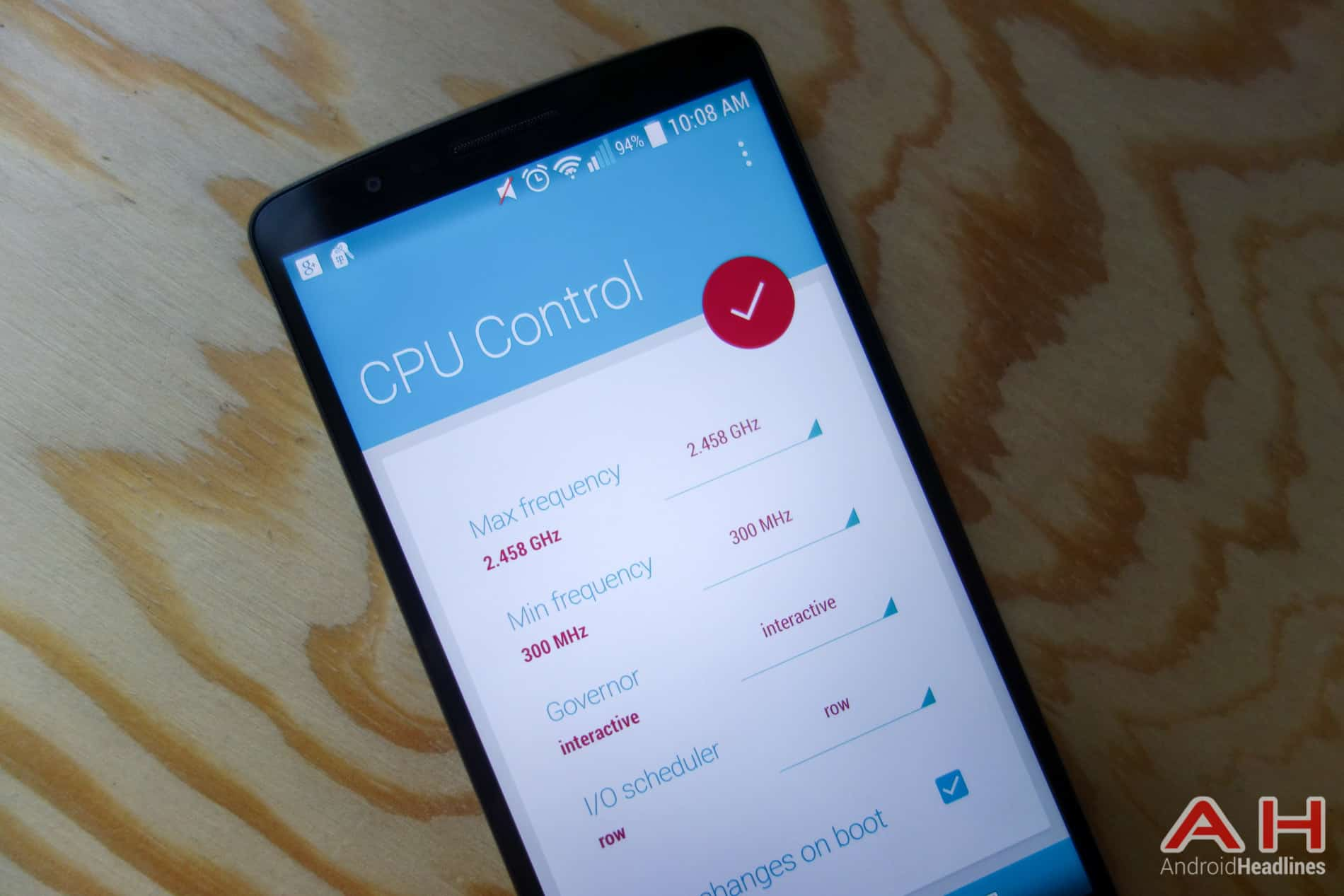 Camera Control Android Phone control the cpu on your android phone or tablet in material design ah 1