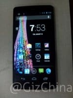 Elephone P1000 Front Screen On