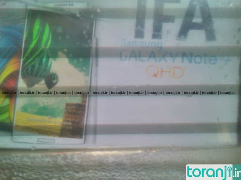 Galaxy Note 4 IFA Poster
