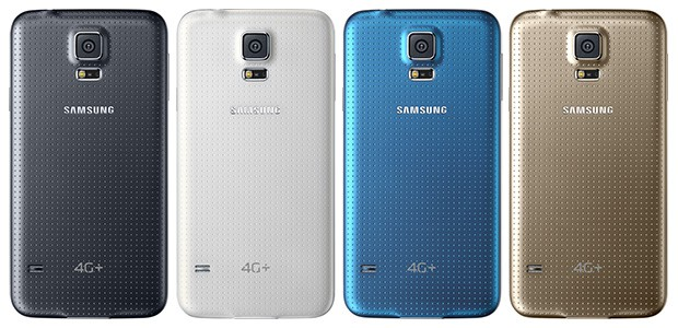 SingTel Samsung Galaxy S5 4G+ Colors