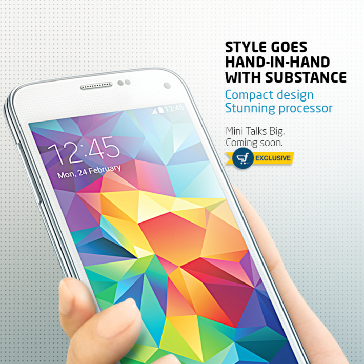 Flipkart To Exclusively Offer Galaxy S5 Mini In India