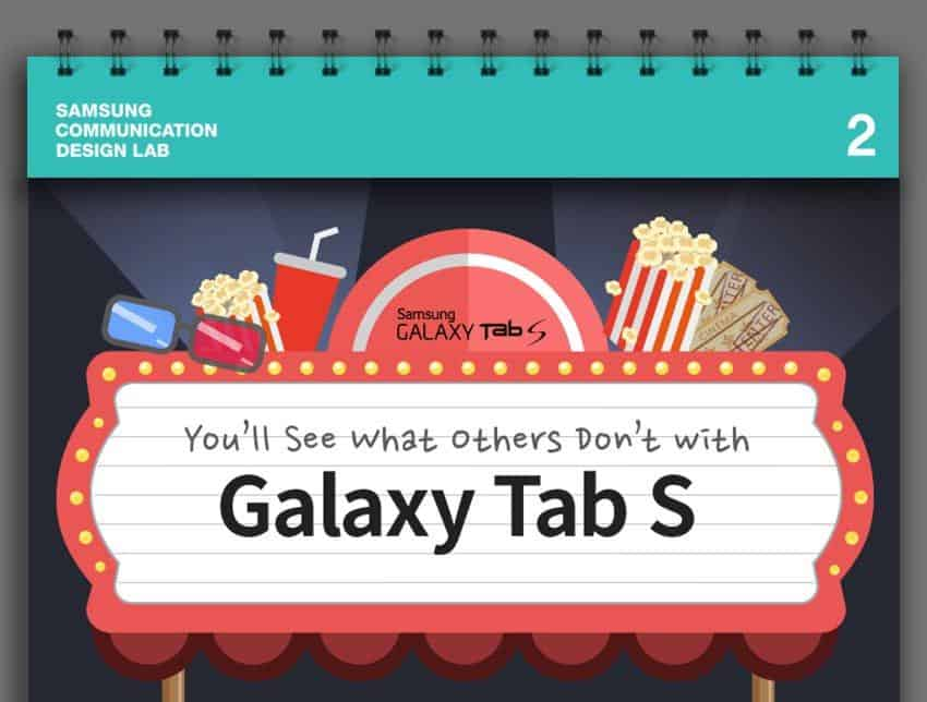 Galaxy-Tab-S infographic featured image