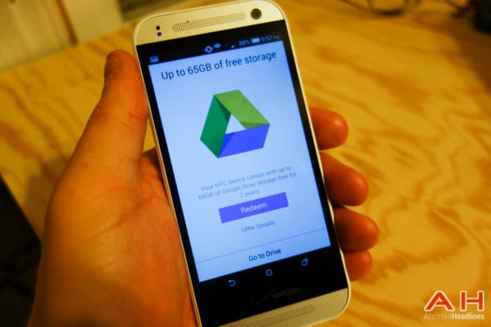 PSA: Don't forget to Grab Your 50GB Google Drive Storage on the HTC One Remix/One Mini 2