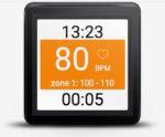 Heart Rate Training Wearable  App Main