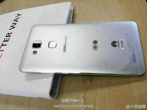 Huawei ascend 7 weibo leaked back