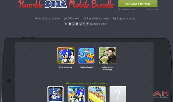 Humble SEGA Mobile Bundle Is Live, Get Six SEGA Classics And Help Charity