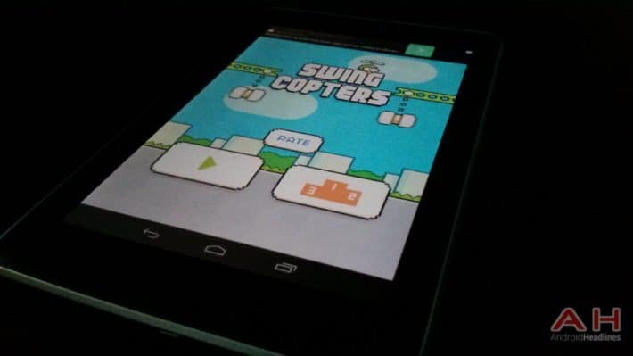Google Play Store Is Already Full Of Swing Copters' Clones