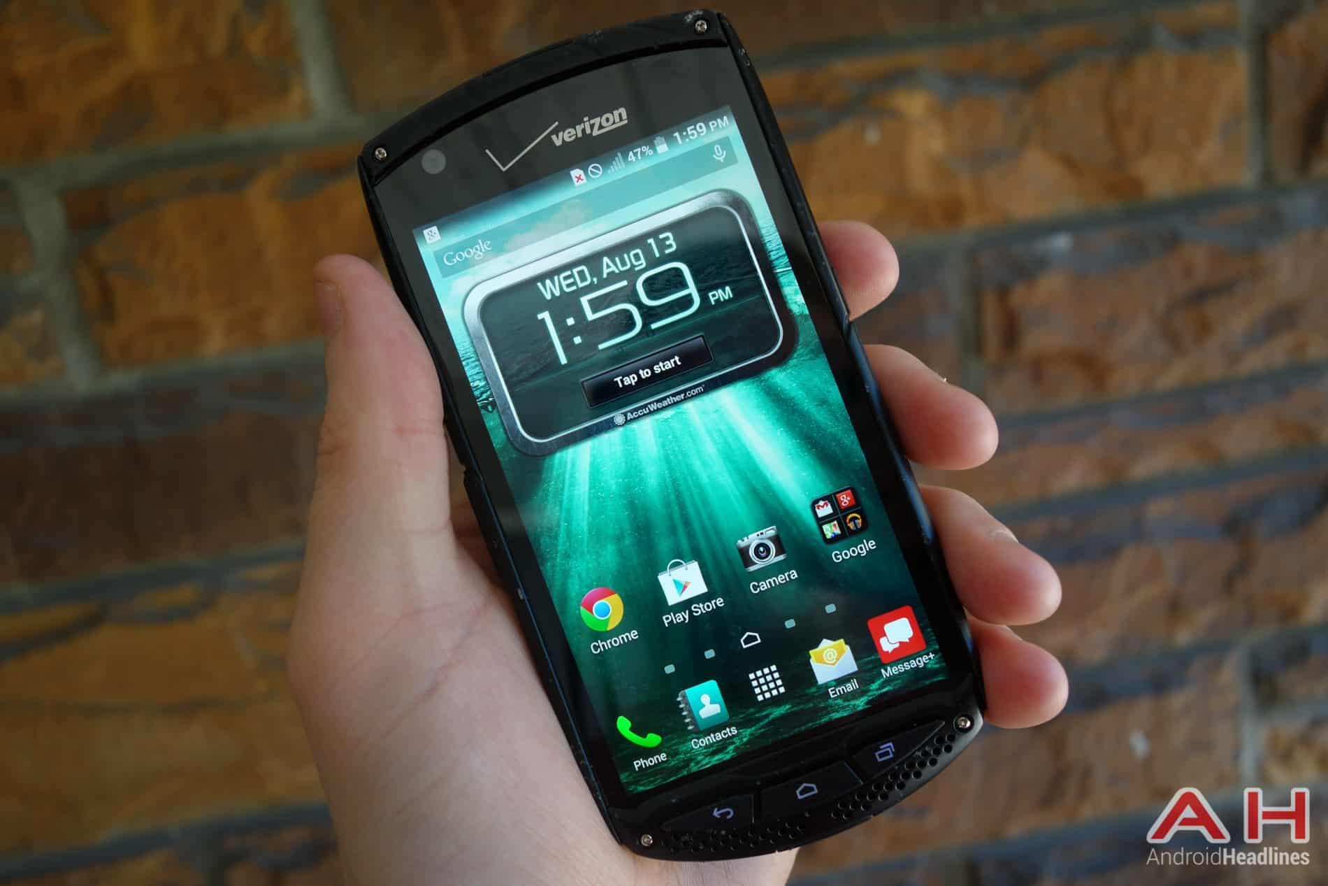 Featured Review: Kyocera Brigadier (Verizon Wireless)