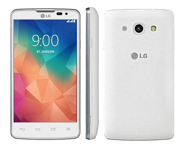 LG L60 Front Back Side White