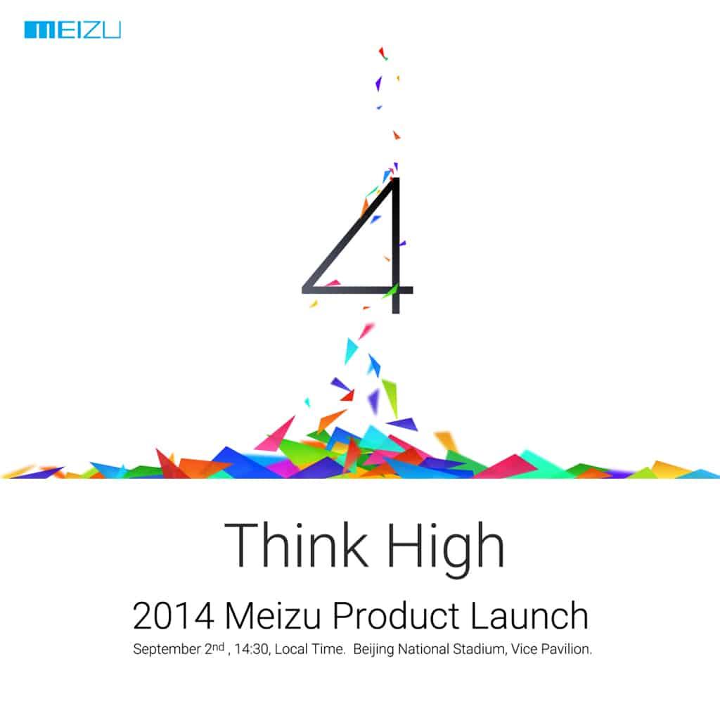 Meizu September 2nd event Think High