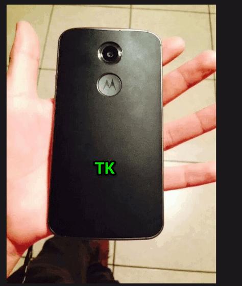 Moto X+1 leather back leak