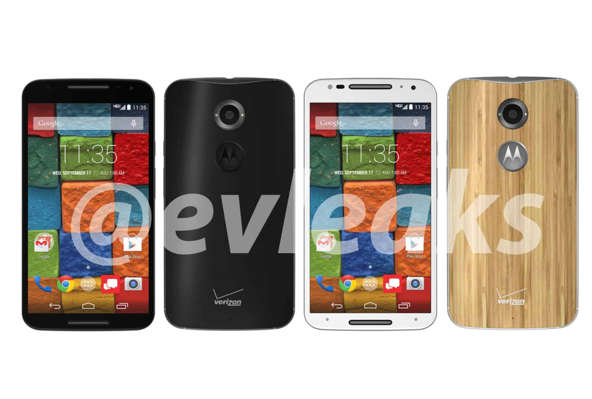 Motorola New Moto X X+1 Leak Press Render
