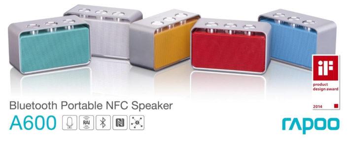 Rapoo A600 Wireless Speaker is Released to Canada