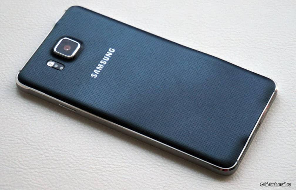 Samsung Galaxy Alpha Back 1