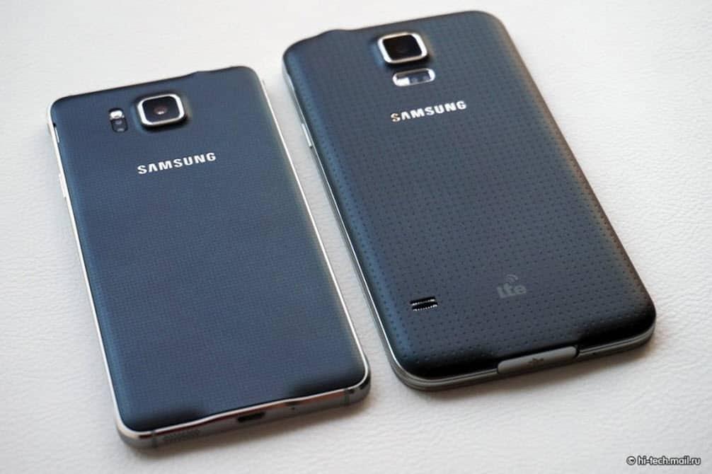 Samsung Galaxy Alpha Back Side by side 7