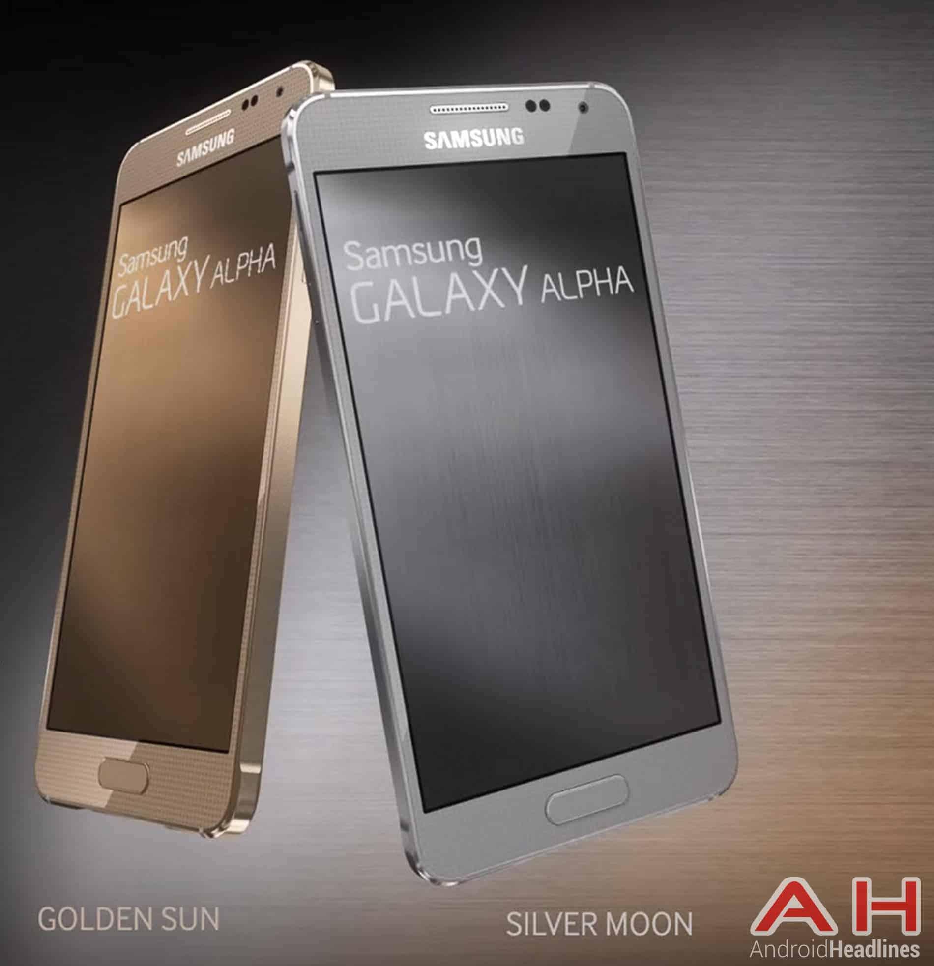 Samsung Galaxy Alpha Front AH