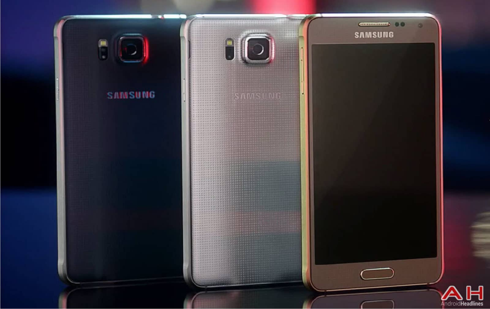 Samsung Galaxy Alpha Three Colors AH