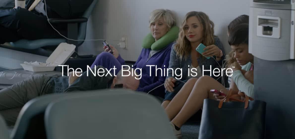 Samsung Wall Hugger Ad