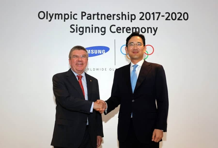 Samsung and Olympics Thru 2020 2
