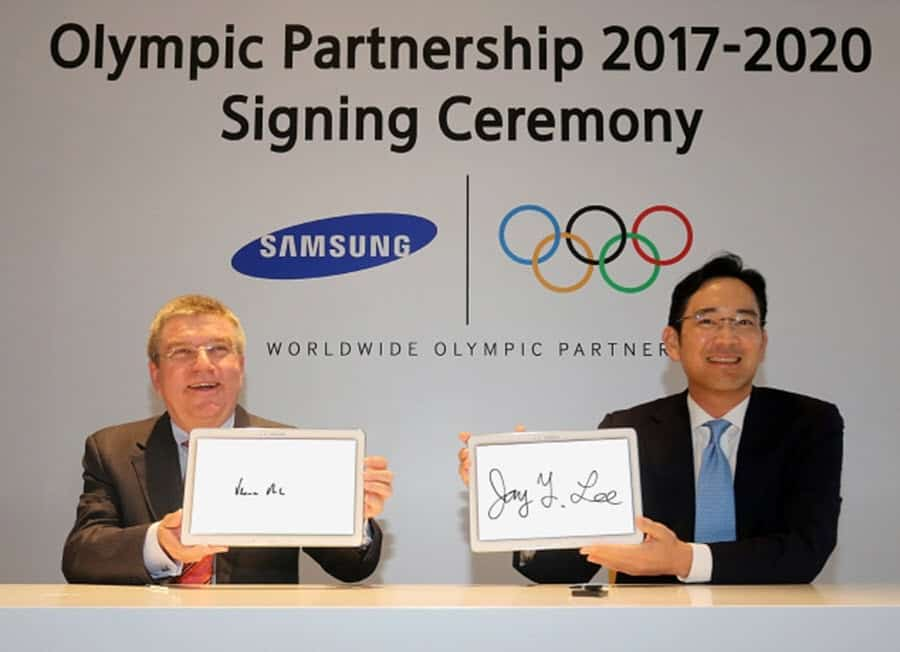 Samsung and Olympics Thru 2020