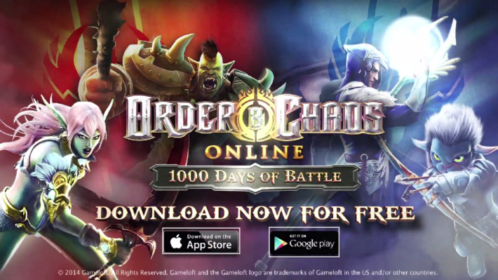 Order and Chaos Turns 3, Brings Update With Plenty Of New Content To Celebrate