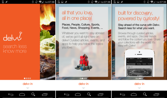 New App Delvv Wants To Help Personalize Your Information Feeds