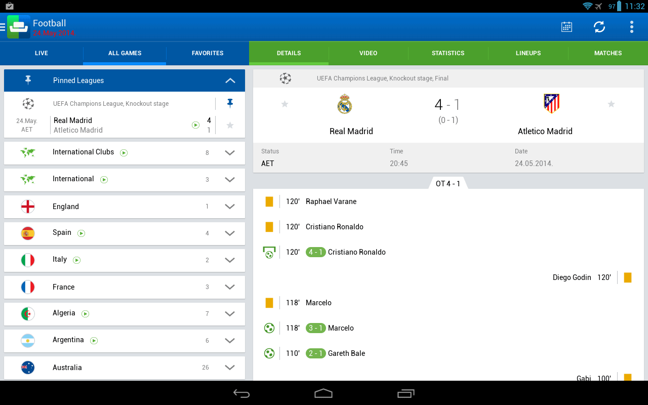 featured: top 5 android soccer livescore apps | androidheadlines