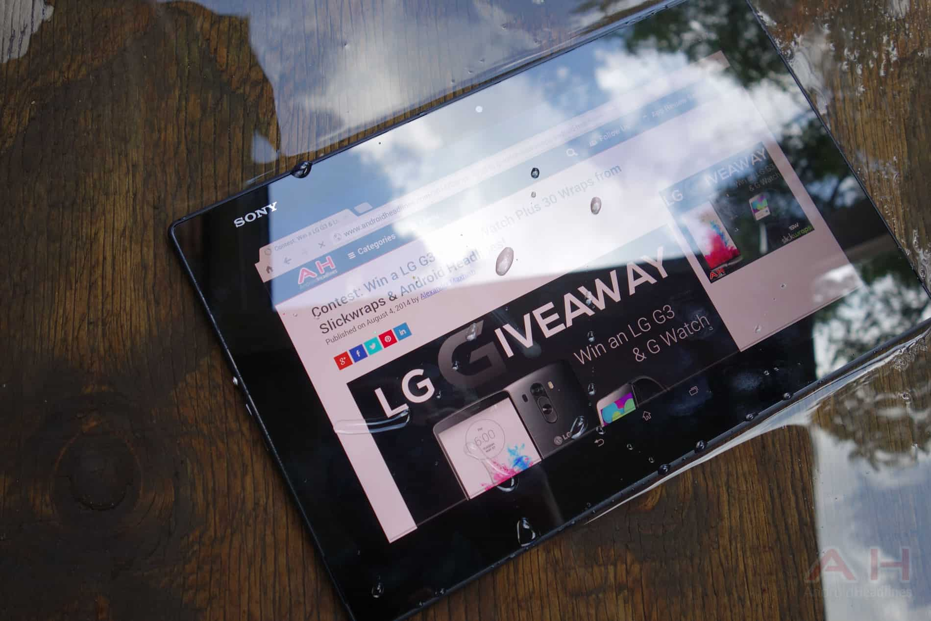 Sony Xperia Z3 Tablet Compact, αδιάβροχο με 8″ οθόνη