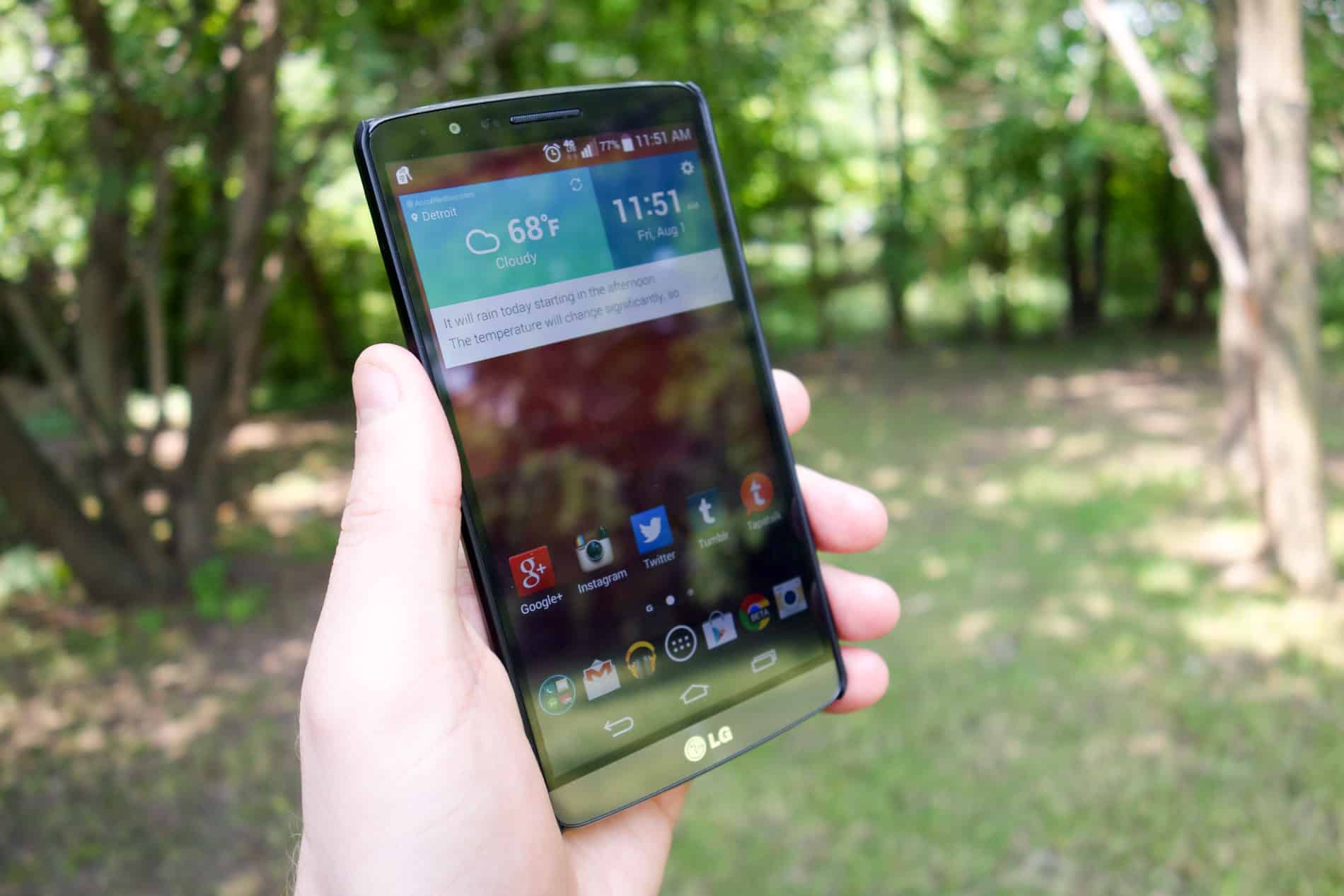 Spigen Ultra Fit LG G3 Review AH 12