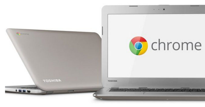Toshiba's 13-inch Chromebook With Their First Intel Bay Trail Chip