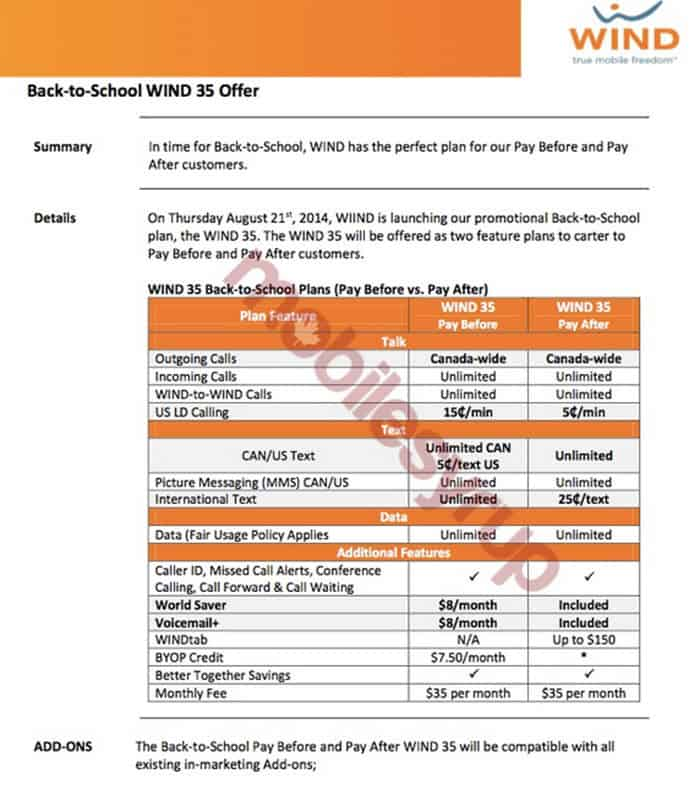 Wind 35 Back to School Offer 1