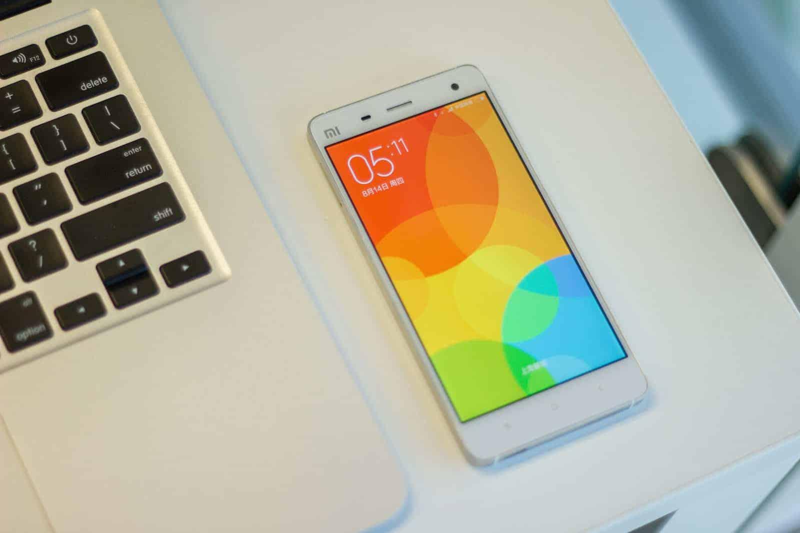 Xiaomi Mi4 with MIUI6_2